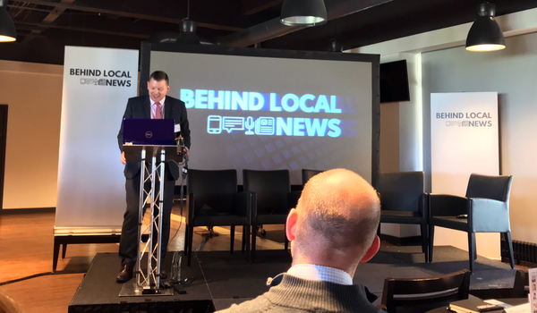 Behind Local News and the hyperlocal challenge.